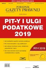 PIT-y i ulgi podatkowe 2019