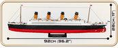 Klocki Cobi RMS Titanic