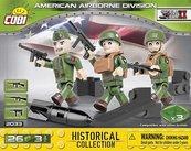Klocki Cobi American 101ST Airborne Division Cobi 2033 - 3 figurki