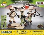 Klocki Cobi Africa Korps Cobi 2034 - 3 figurki