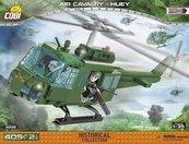 Klocki Cobi - Śmigłowiec Air Cavalry Huey - Cobi 2232