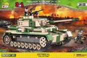 Klocki Cobi Panzer IV (Pz.Kpfw. IV Ausf. F1/G/H) - niemiecki czołg średni Cobi 2508A