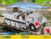 Klocki Cobi Sd.Kfz 9 Famo - ciężki ciągnik artyleryjski Cobi 2522