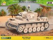 Klocki Cobi Sd.Kfz.121 Panzer II Ausf. F - niemiecki czołg lekki