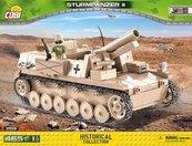 Klocki Cobi Sturmpanzer II - niemieckie działo samobieżne