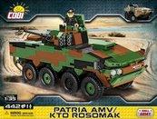 Klocki Cobi Patria AMV/KTO Rosomak - kołowy transporter opancerzony Cobi 2616