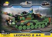 Klocki Cobi Leopard 2A4 - niemiecki czołg podstawowy Cobi 2618