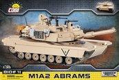 Klocki Cobi M1A2 Abrams - amerykański czołg podstawowy Cobi 2619