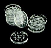 Crafters: Znaczniki akrylowe - Transparentne - Słońce (10)