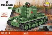 Klocki Cobi Radziecki czołg ciężki KV-2