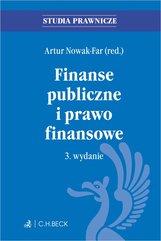 Finanse publiczne i prawo finansowe. Wydanie 3