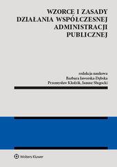 Wzorce i zasady działania współczesnej administracji publicznej