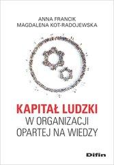 Kapitał ludzki w organizacji opartej na wiedzy