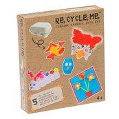 Re-Cycle-Me Zestaw Kreatywny Maska Wenecka 5 zabawek