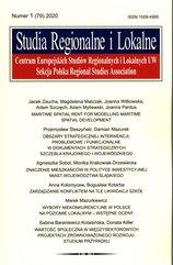 Studia Regionalne i Lokalne 2020/1 (79)