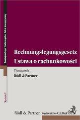 Ustawa o rachunkowości. Rechnungslegungsgesetz. Wydanie 5