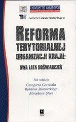 Reforma terytorialnej organizacji kraju : dwa lata doświadczeń