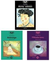 3 książki - Barwy miłości / Komungo / Filiżanka kawy - Literatura KOREAŃSKA