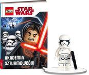 Książka do czytania Lego Star Wars Akademia szturmowców + minifigurka