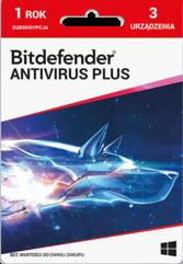 Program Antywirusowy Bitdefender Plus 2021 (3 stanowiska)