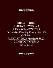 Silva Rerum Księdza Szymona Krzysztofowicza