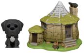 Funko POP Town: Harry Potter: Hagrid's Hut & Fang