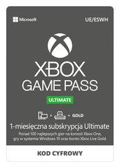 Xbox Game Pass Ultimate 1 miesiąc gratis