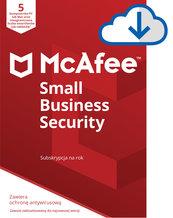Program Antywirusowy McAfee Small Business Security (5 urządzeń)