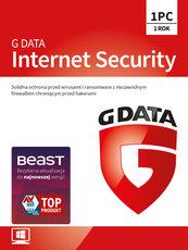 Program Antywirusowy G DATA Internet Security 12 miesięcy (1 użytkownik)