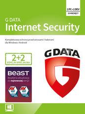 Program Antywirusowy GDATA Internet Security 20 miesięcy (4 użytkowników)