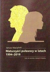 Maturzyści puławscy w latach 1994-2016