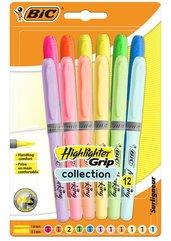 Zakreślacz Highlighter Grip Pastel mix 12szt BIC