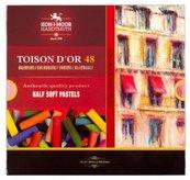 Pastele suche połówki 8546 Toison D'or 48 kolory