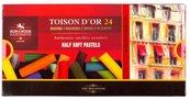 Pastele suche połówki 8544 Toison D'or 24 kolory