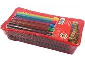 Kredki akwarelowe w koszyku 72 kolory