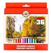 Kredki Omega Jumbo 36 kolorów