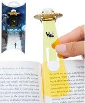 UFO - złota zakładka do ksiązki w etui