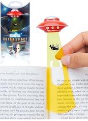 UFO - czerwona zakładka do ksiązki w etui