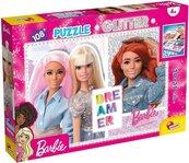 Puzzle Barbie Dreamer Glitter 108