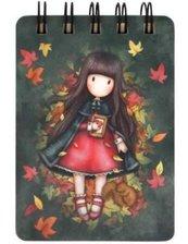 Mini kołonotatnik - Autumn Leaves