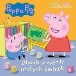 Świnka Peppa Wesołe przygody małych świnek