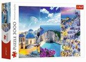 Puzzle 3000 Greckie wakacje TREFL