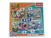 Puzzle 4w1 Ptasia Akademia TREFL