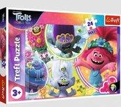Puzzle 24 maxi Muzyczny świat Trolli TREFL
