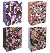 Torba prezentowa 18x23 kwiaty vintage