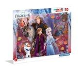Puzzle Supercolor 30 Frame Frozen II
