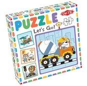 Moje pierwsze puzzle: Ruszajmy w drogę! 4x6el.