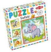 Moje pierwsze puzzle: Safari 4x6el.
