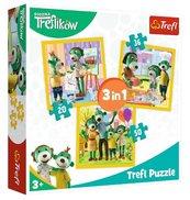 Puzzle 3w1 - Razem jest wesoło TREFL