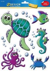 Naklejki na okno - Zwierzęta morskie
